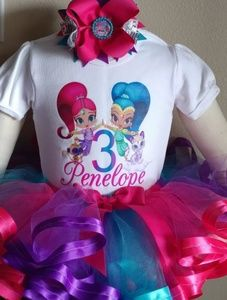 Other - Shimmer and Shine tutu outfit